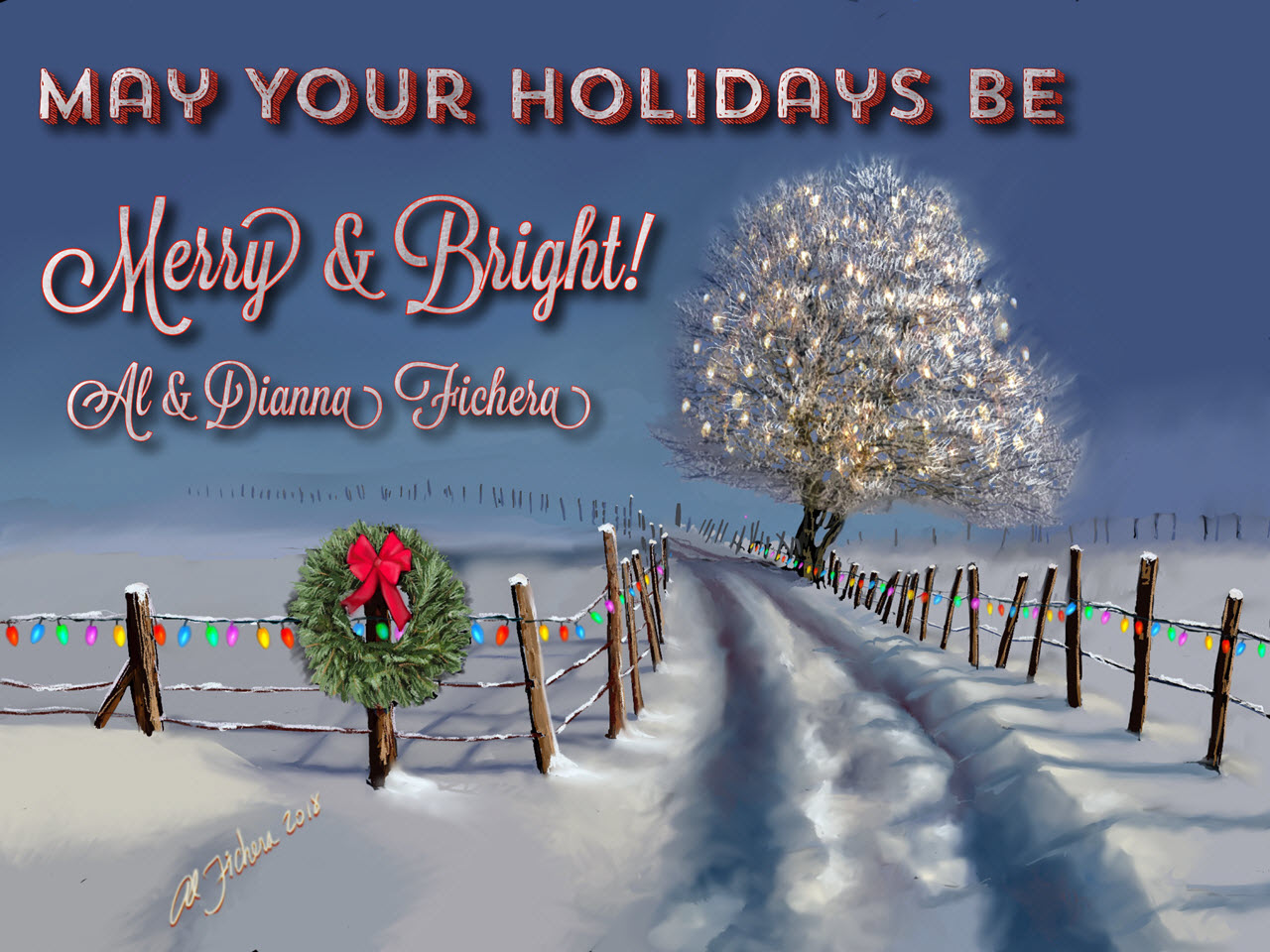 Holiday Wishes Merry and Bright