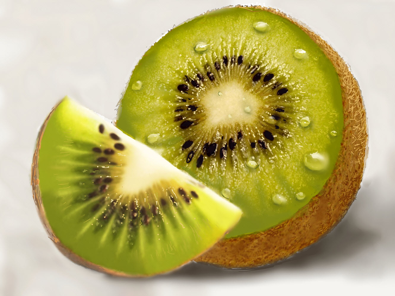 Still Life with a Kiwis