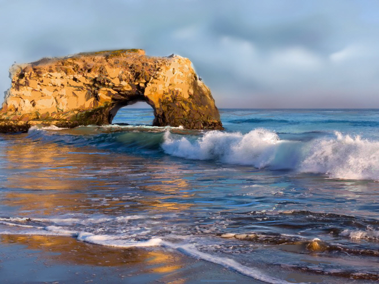 Natural Bridges State Park, Santa Cruz, CA