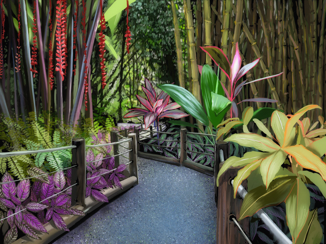 Hawaiian Tropical Botanical Gardens