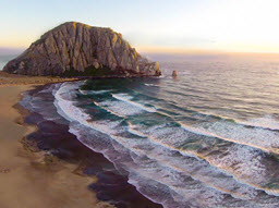 Morro Bay Rock, CA